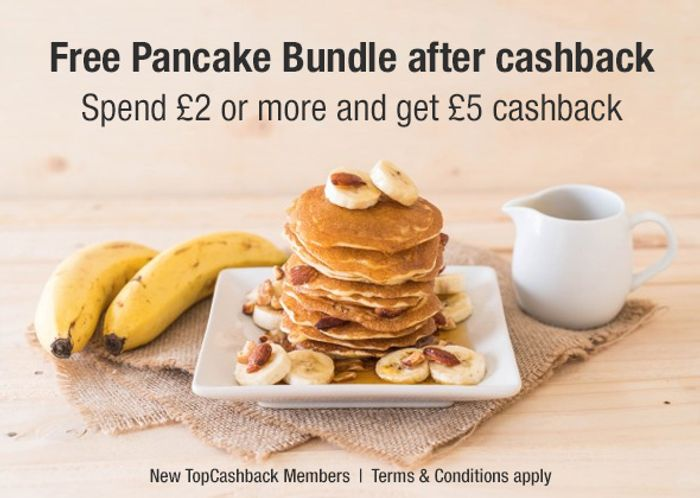 Free Pancake Bundle After Cashback