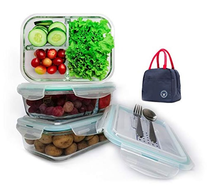 Ohh Awesome Container Set - 12pcs Set w/Cutlery Set - save 50%
