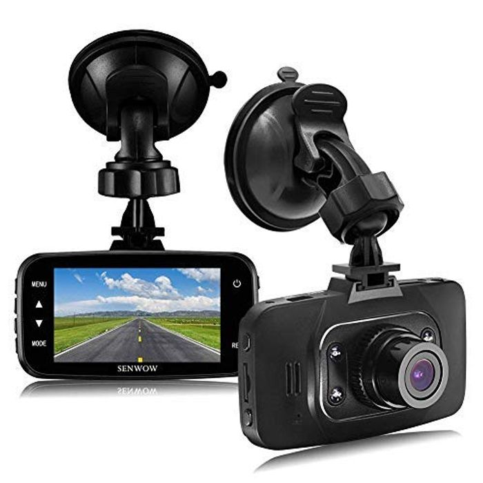 SENWOW Dash Cam 1080P Full HD Car Camera Only £29.99 Delivered