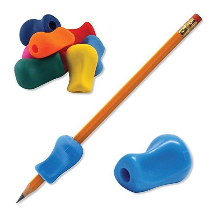 5 Pcs Children Kids Pen Pencil Grip Corrector Handwriting Aid