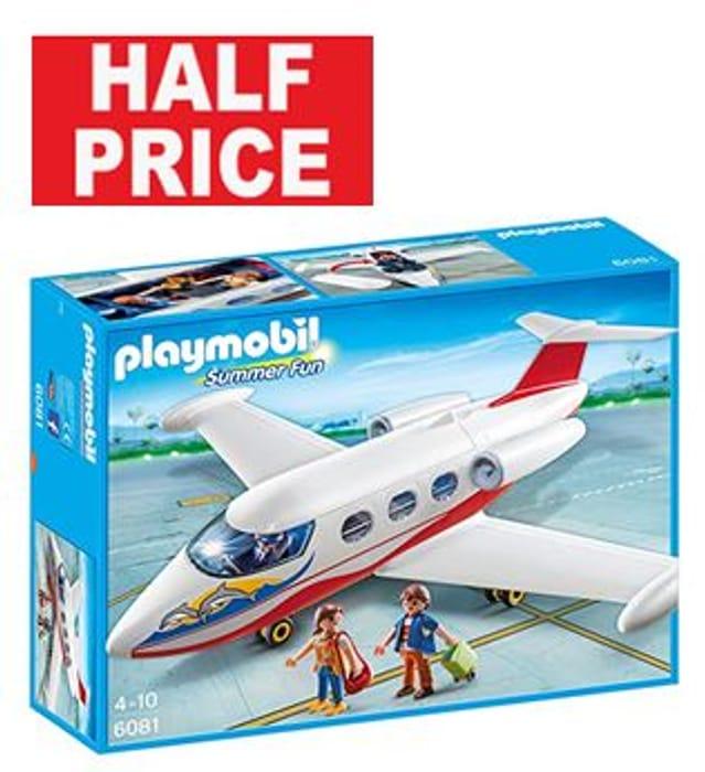 HALF PRICE AT AMAZON: Playmobil Summer Jet. SAVE £10