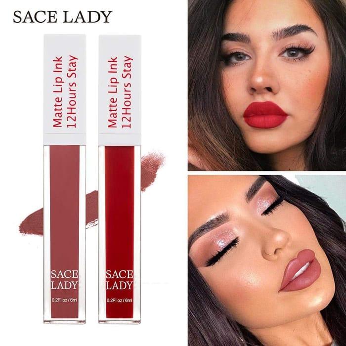 Natural Matte Lip Gloss Makeup Cosmetic Beauty Lip Glosses