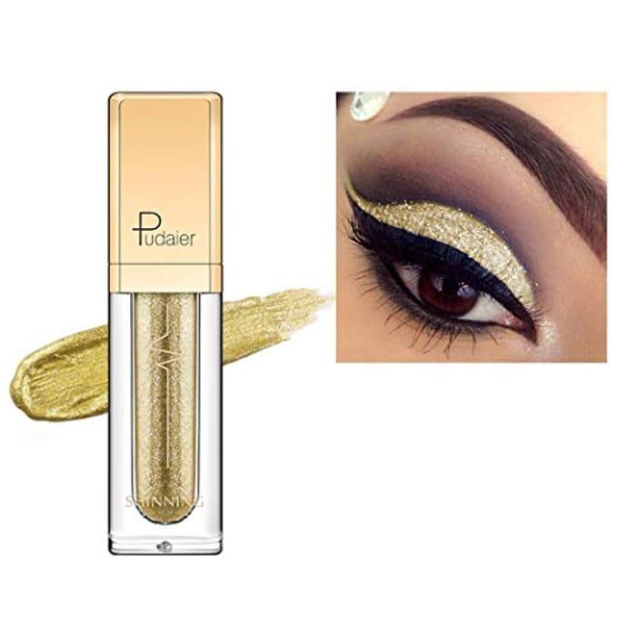 Glitter Liquid Eyeshadow Waterproof Long-Lasting Eye Shadow Makeup Cosmetic