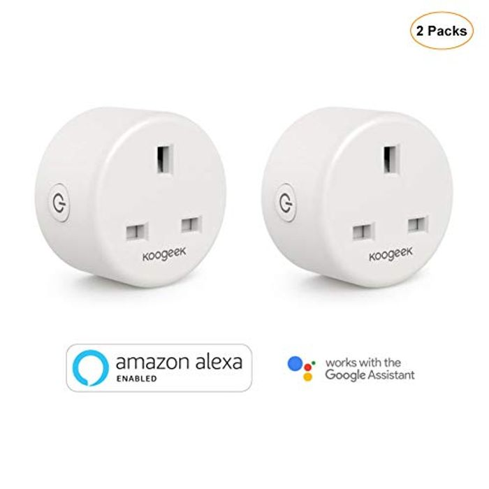 One Smart Plug Koogeek Mini UK Wi-Fi Plug