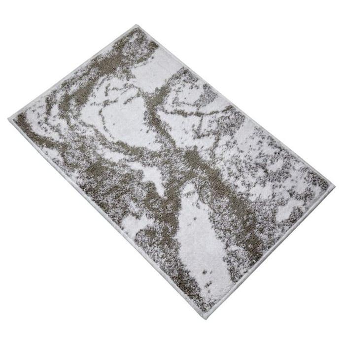 Argos Home Marble Bath Mat - Grey