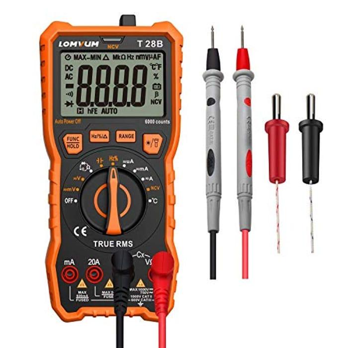 60% off Digital Multimeter Voltage Tester Voltmeter
