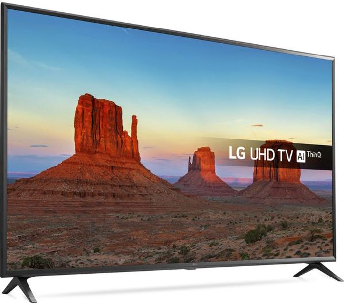 *SAVE £170* LG 43 Inch Ultra HD, HDR, Freeview Play, Smart, LED 4K TV