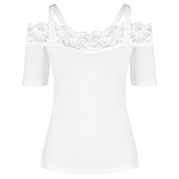 Lace Trim Top for £3.33