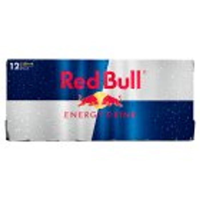 Red Bull Energy Drink 12x250ml