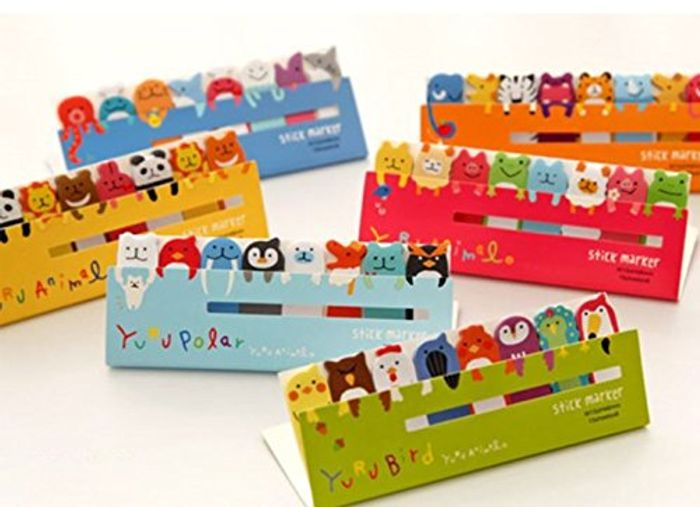 REDUCED!! Super Cute Animal Memo Notes