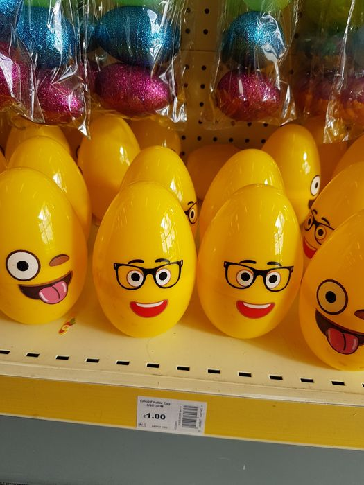 Assorted Emoji Fillable Egg