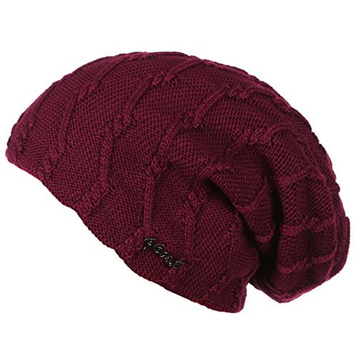 ERIC YIAN Beanie Knit Crochet Warm Skull Cap for £1.19 Only