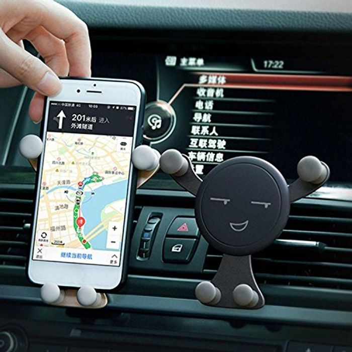 Car Phone Mount, Cell Phone Holder for Car Air Vent, Gravity Phone Stand