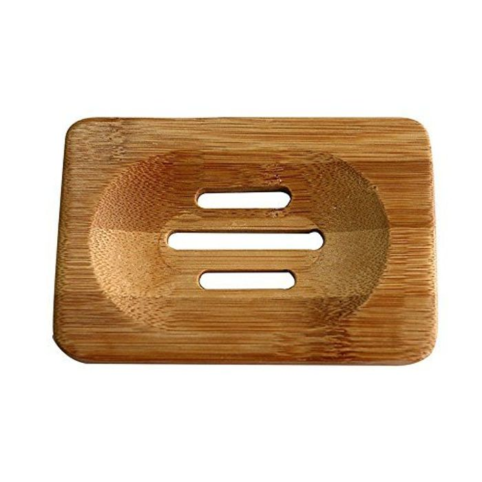Bamboo Soap Dish Storage - ONLY £1 inc Postage