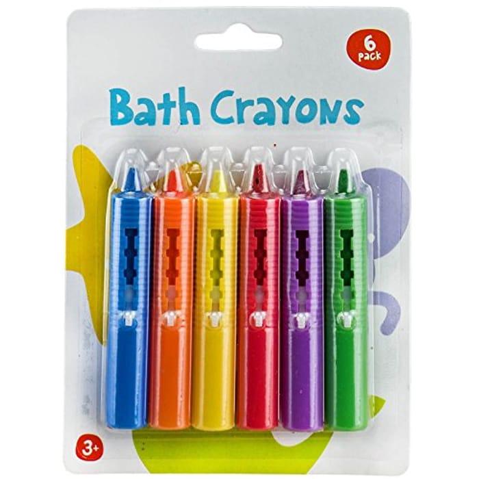 Bath Wax Crayons, Colorful