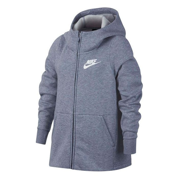 Nike NSW Full Zip Hoody Junior Girls - 18% Off