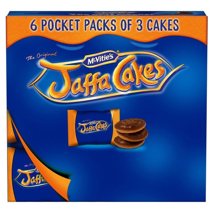 Mc Vitie'S Jaffa Cakes Pocket Pack 220g