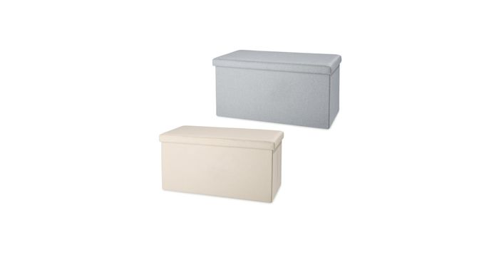 Kirkton House Large Storage Ottoman Only £16.99