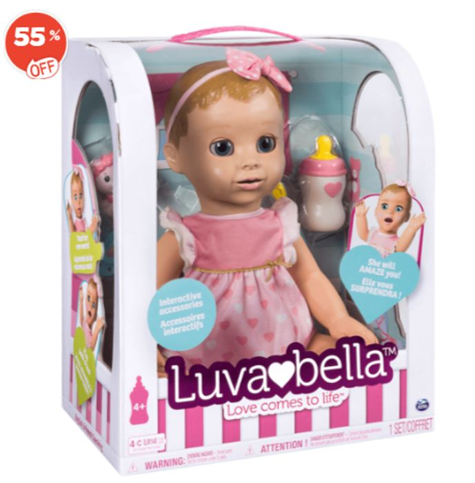 Bargain! Luvabella Doll - Blonde at the Entertainer