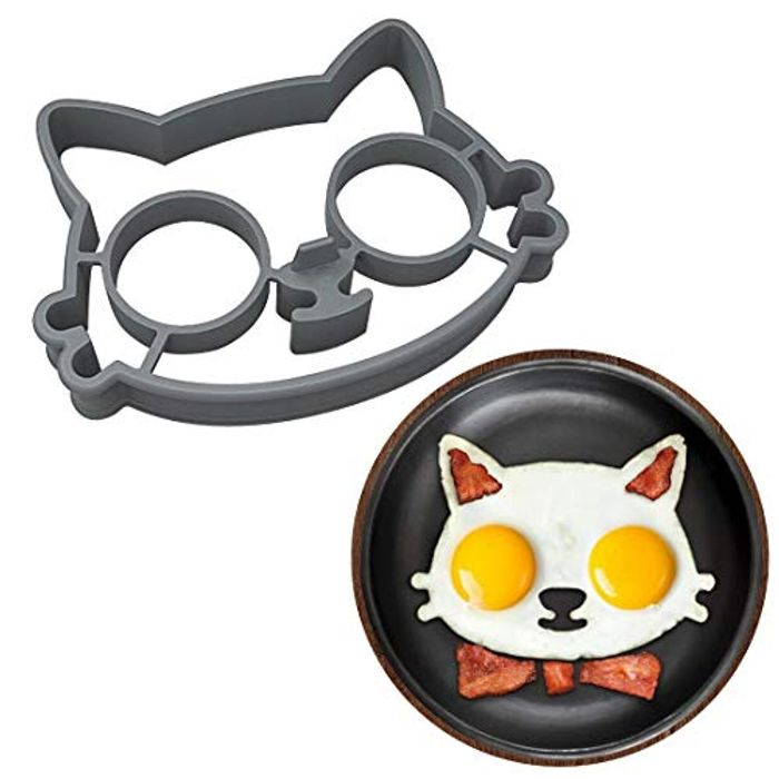 Cat Shaped Pancake Mould at Amazon Only £1.39