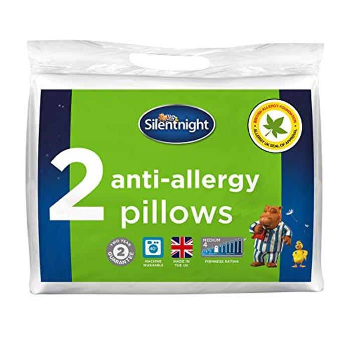 Silentnight Anti-Allergy Pillow X 2