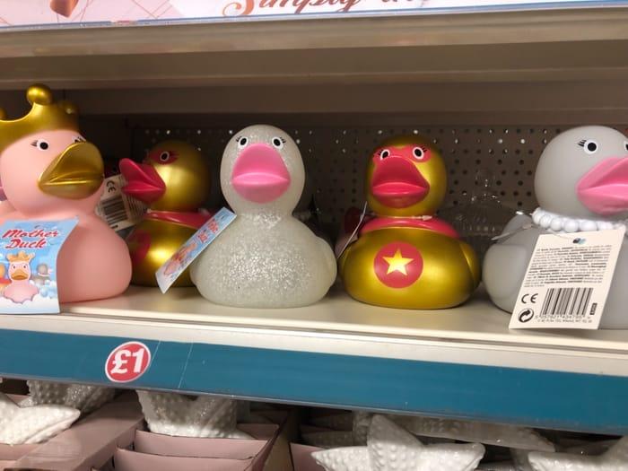 Poundland - Big Rubber Ducks