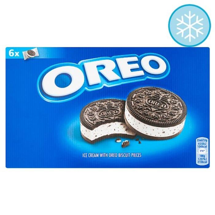 Oreo Ice Cream Sandwich 6 X 55ml