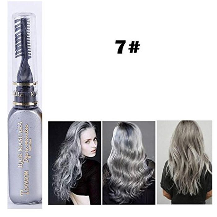 Unisex One Time Temporary Hair Color Dye Cream Highlights Streaks Touch up