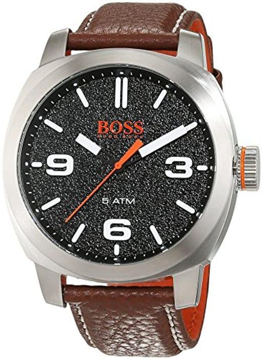 Hugo Boss Orange Cape Town Men's Quartz Analogue Classic Leather Strap 1513408