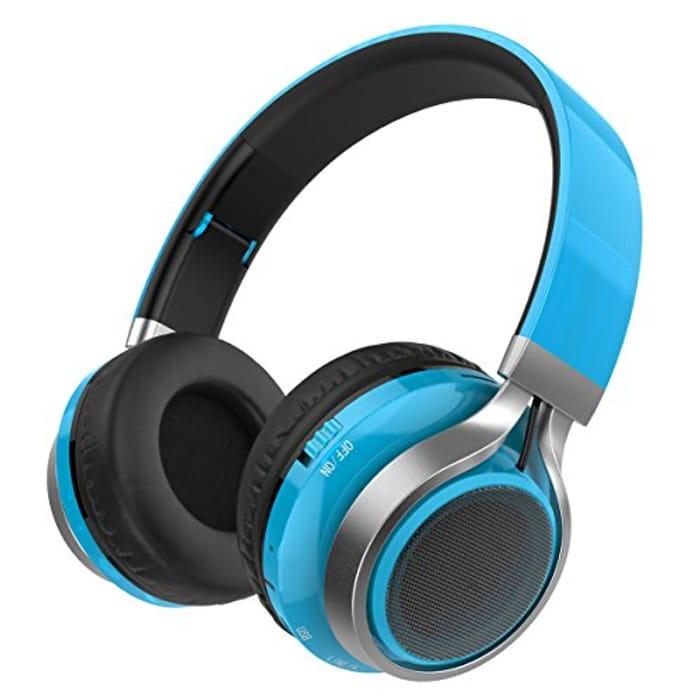 Excelvan Kids Headphones Wireless Boys Bluetooth Headphone - save 65%