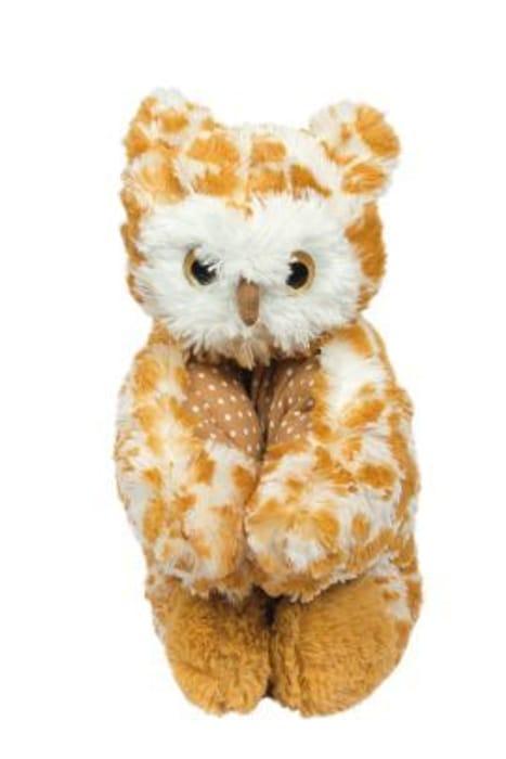 Pillow Friendz Brown Owl