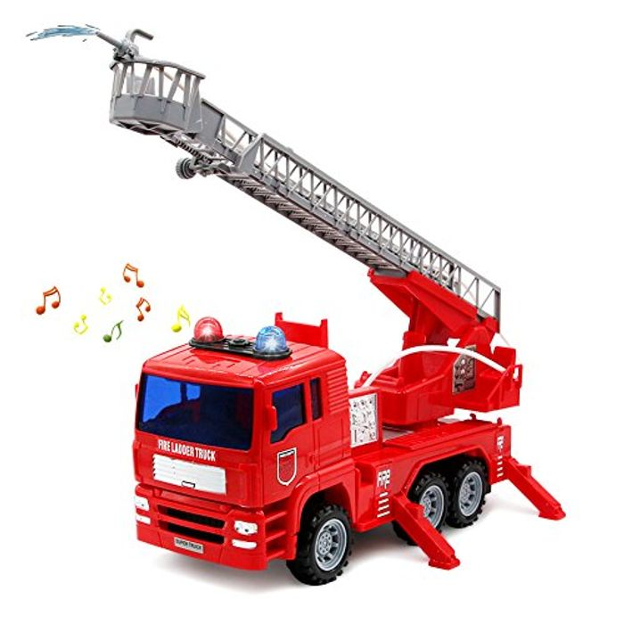 Fire Truck with Brights Lights and Water Pump