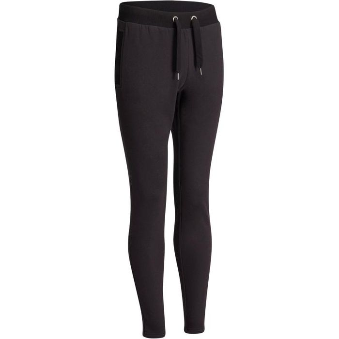 Domyos 920 Women's Slim-Fit Gym/Pilates Black Bottoms - SAVE £10
