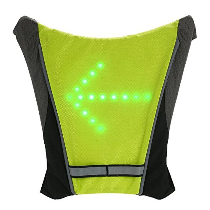 Bike Backpacks USB Rechargeable Reflective Attachment - Save £11 with Code