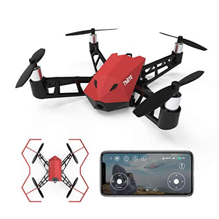 Drone with Camera WIFI FPV Quadcopter Drone with 8MP 1080P - 55% Off with Code