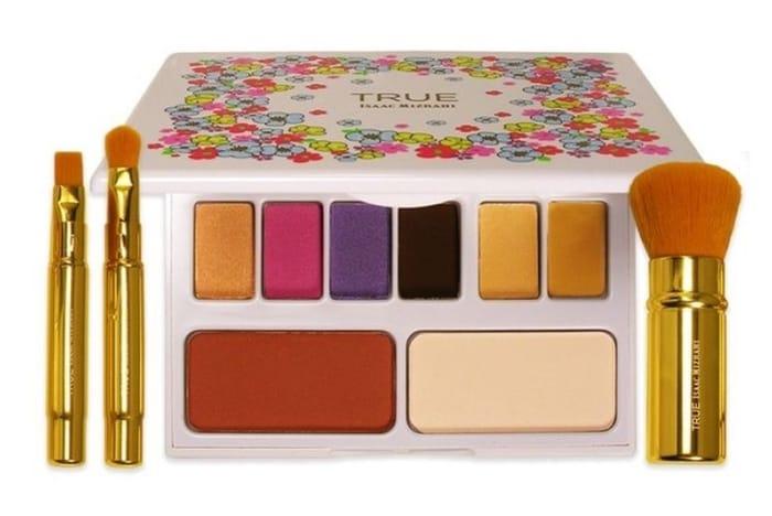 20pc Eye Makeup Brush Set & 8-Colour Eye Shadow Palette