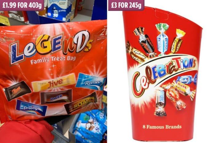 Cheaper Version of Celebrations at Aldi