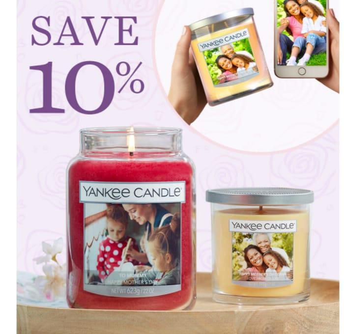 Save 10% at Yankee Candle
