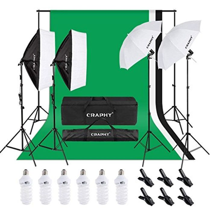 60% OFF!! Photo Studio Light Set
