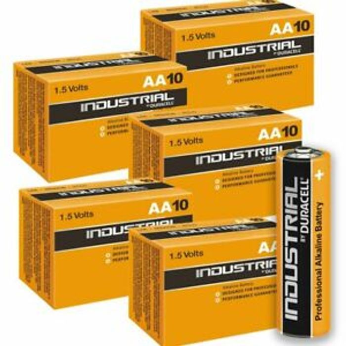 20X Duracell Industrial AA Batteries
