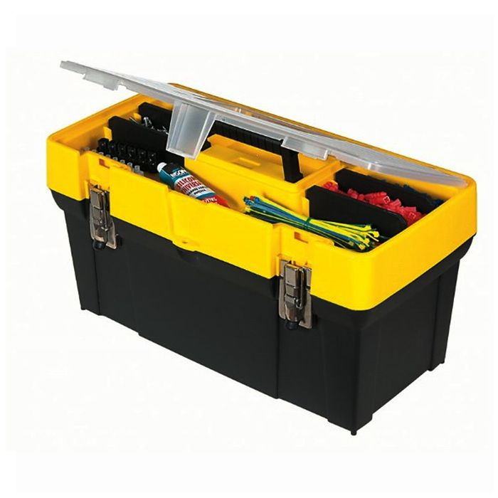 "Stanley 19"" Toolbox with Organiser Lid, 50%off at Robert Dyas"