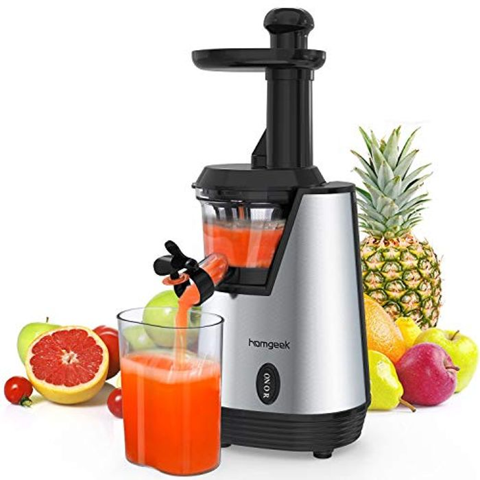 Electric Juice Extractor with 200W Quite Motor for High Nutrient