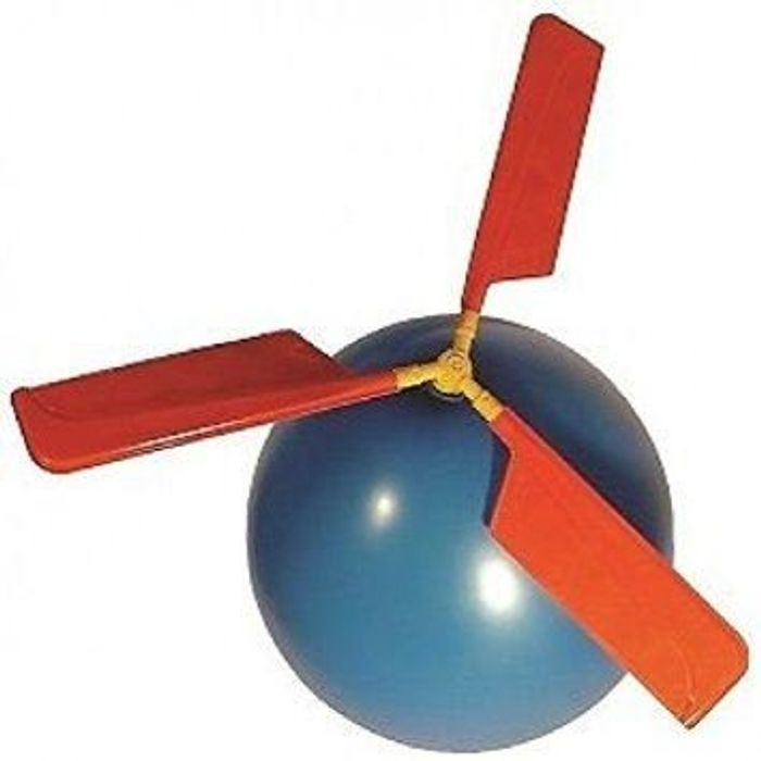 **BARGAIN** Novelty Balloon Helicopter