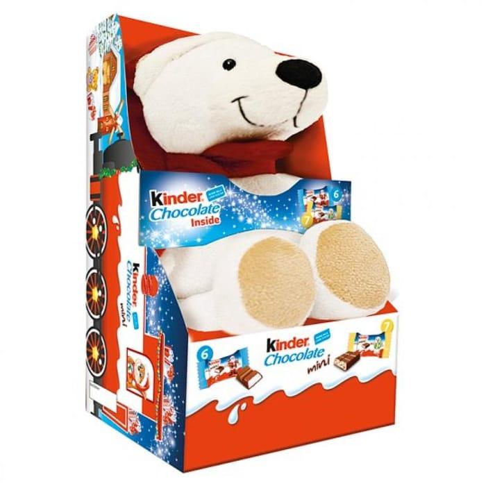 MEGA DEAL Kinder Chocolate Mini Mix Fluffy Toy 73 G