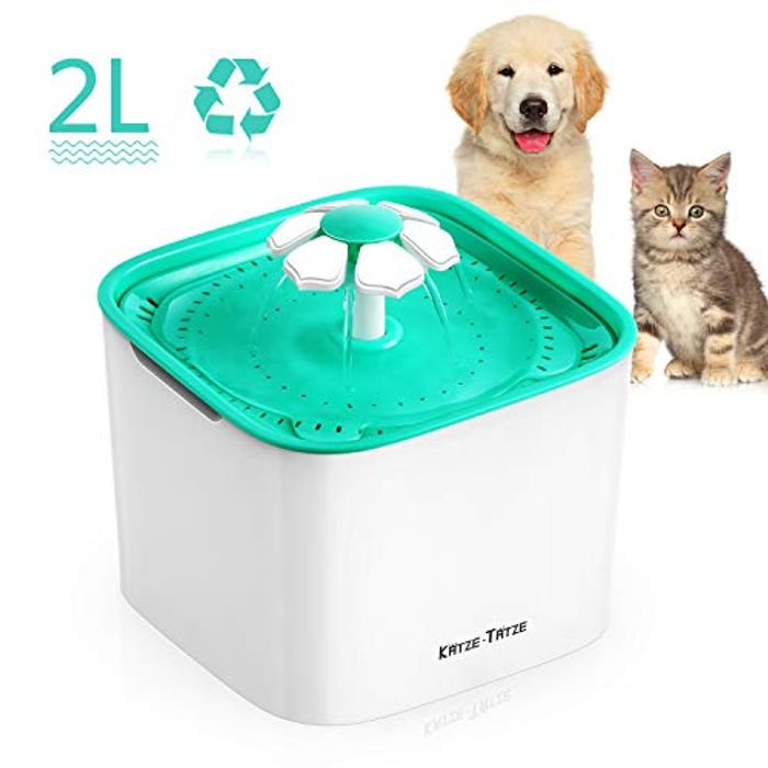 Pet Water Fountain 2L Automatic Dog Water Dispenser