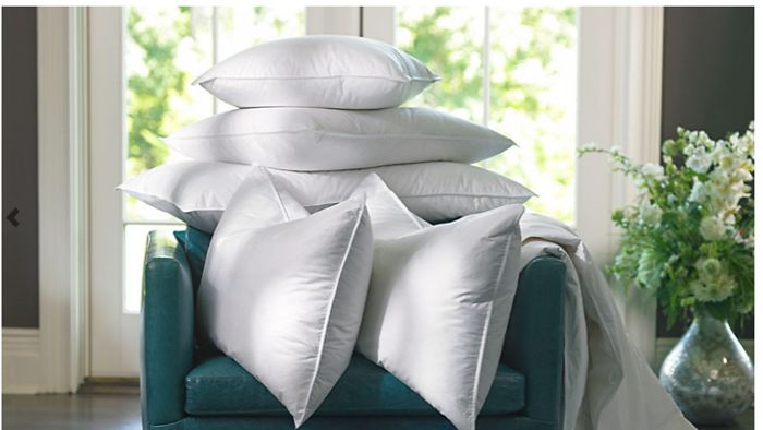 2 or 4 LUXURY Duck Feather & Down Pillows