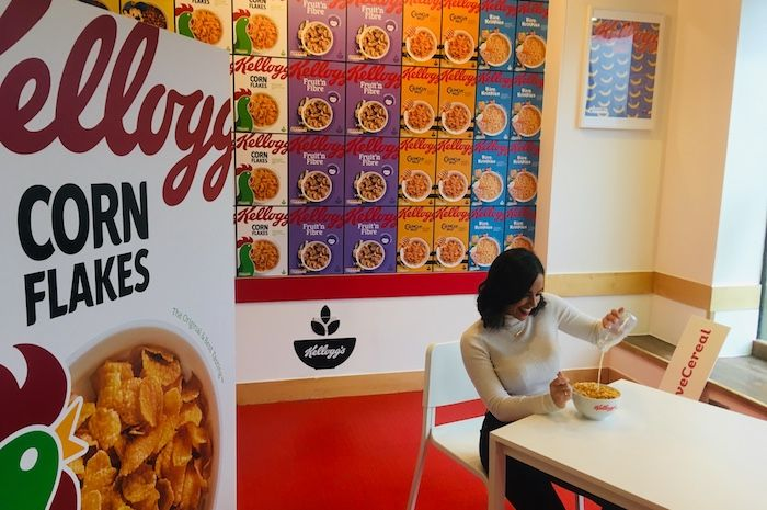 FREE Kellogg Corn Flakes, Coco Pops & Coffee in Cereal Cafe, Manchester
