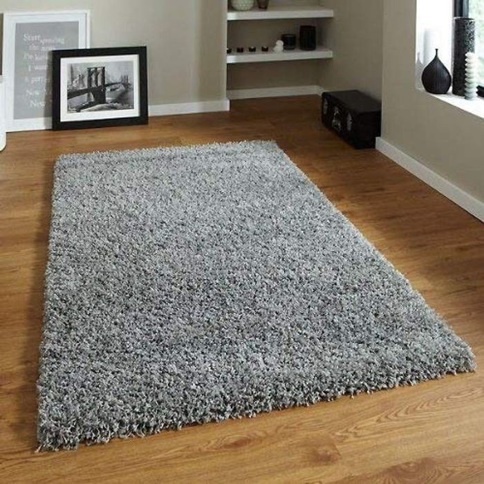 Think Rugs 120 X 170 Cm Vista 2236 Rug, Grey