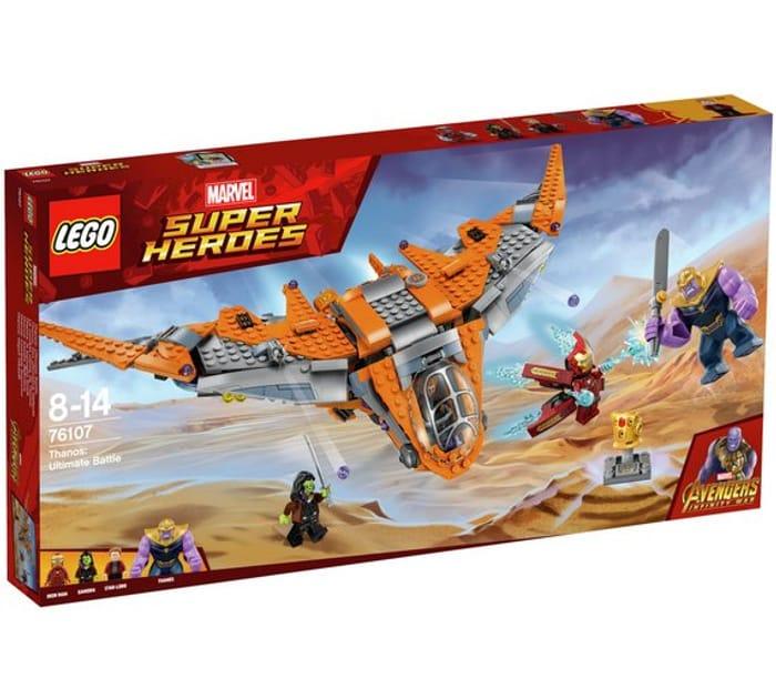 LEGO Marvel Avengers Thanos Ultimate Battle Toy -76107