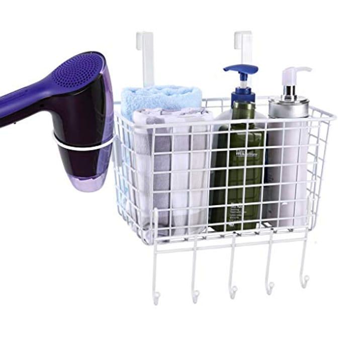 Deep Metal Mesh Basket for Bathroom Accessories,